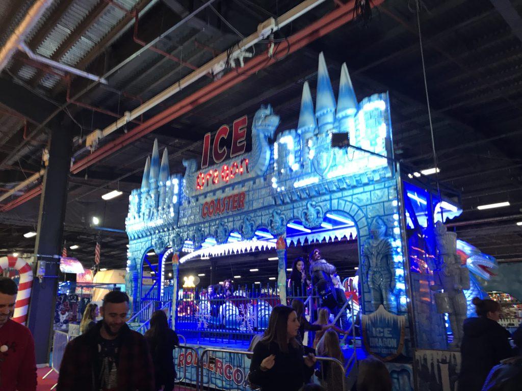 Ice Dragon Coaster at Winter Funland