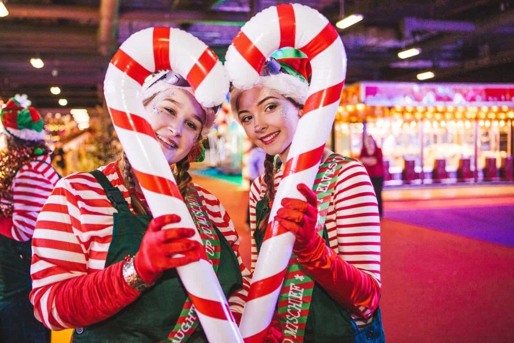 Winter Funland Candy Canes