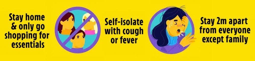 coronavirus advise
