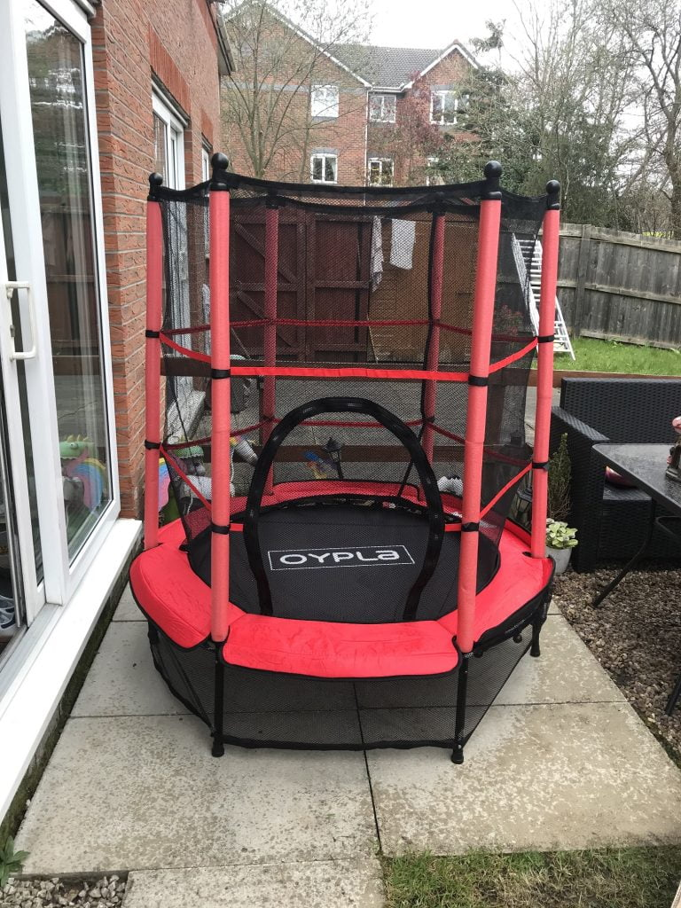 Completed Trampoline