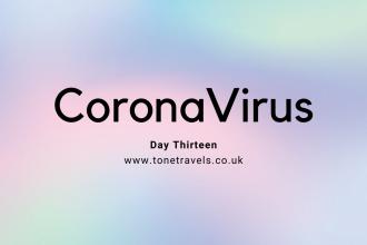 CoronaVirus Day 13