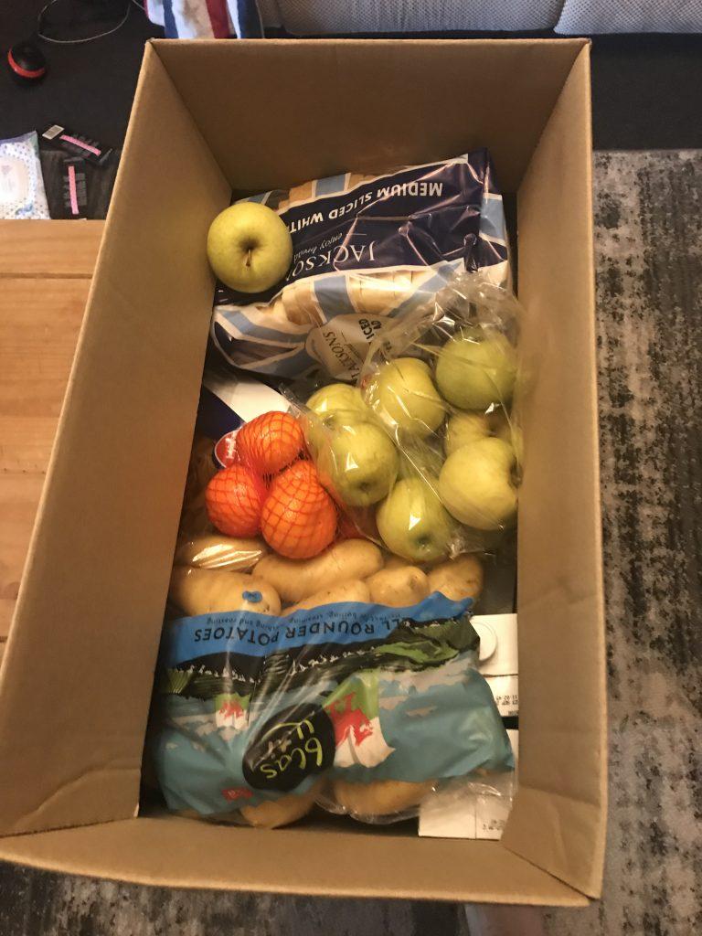 Free Food Parcel