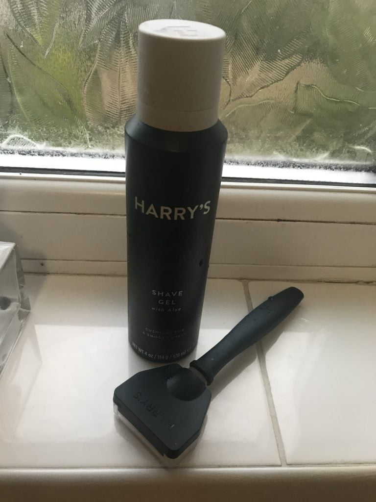 Harry's Shaver and Gel
